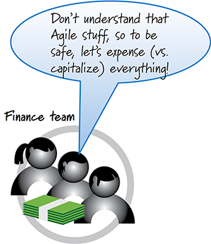Closing the GAAP between Finance and Agile
