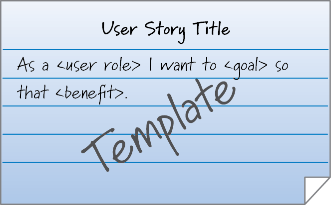 Agile and scrum blog by ken rubin at innolution innolution for Scrum user stories template