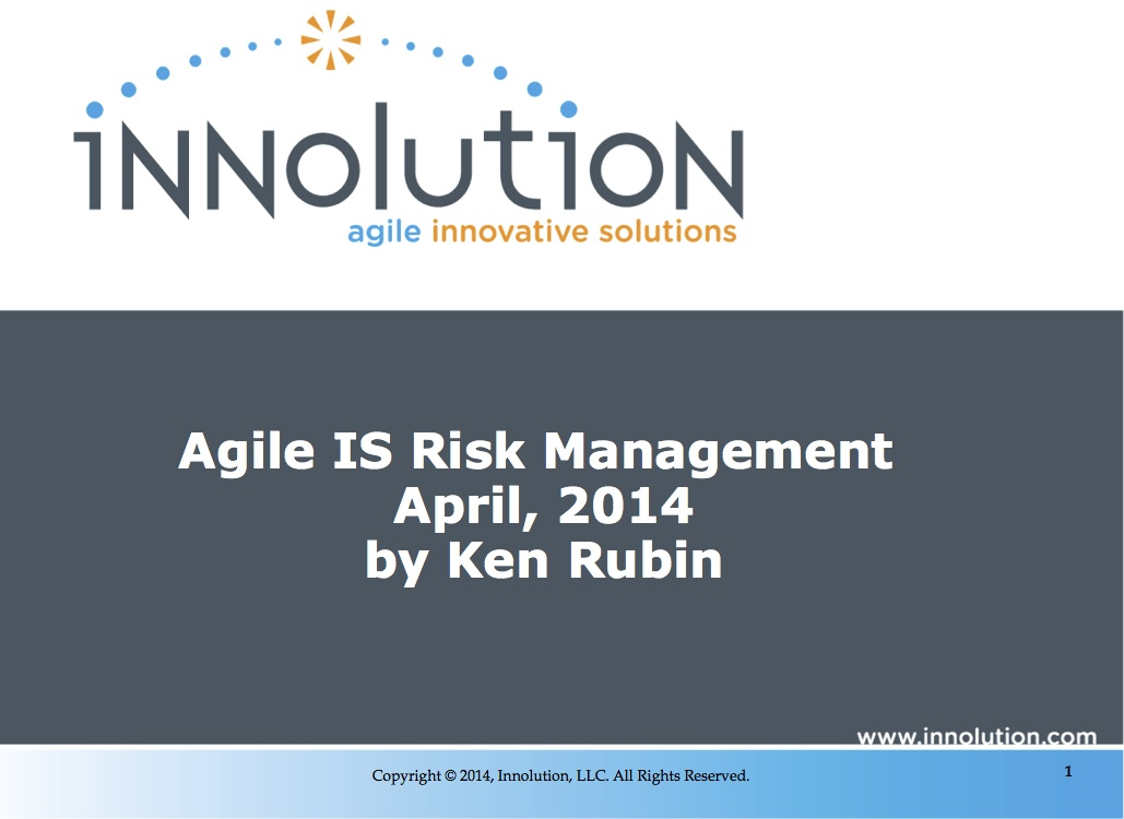 Agile IS Risk Management Thumbnail
