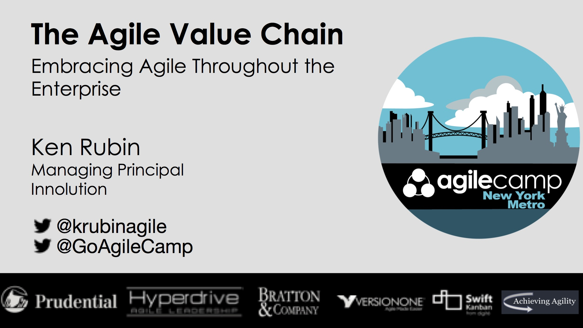 The Agile Value Chain—Embracing Agile Throughout the Enterprise