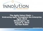 The Agile Value Chain - Agile 2015