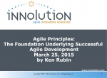 Agile Principles: The Foundation Underlying Successful Agile Development